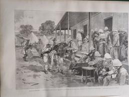 1895 MADAGASCAR - CROIX ROUGE - MAJUNGA - RAPATRIÉS AU SANATORIUM DE PORSUEROLLES - Ref: ILL Zuru D - Magazines - Before 1900