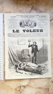 1858 LE VOLEUR VINTAGE FRANCE FRENCH MAGAZINE Newspapers NOVELS Narrative - Magazines - Before 1900
