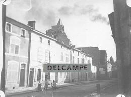 52 - SAINT DIZIER - Vue Générale D'une Rue De St Dizier - Photo Originale 1902 - Lieux
