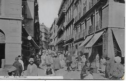 CPA - ALGER - RUE MARENGO - CARTE RARE - BELLE ANIMATION - Alger