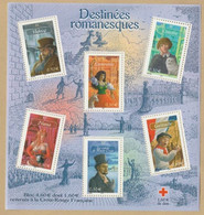 FRANCE 2003 BF  60 Destinées Romanesques Croix-Rouge Timbre NEUF** - Mint/Hinged