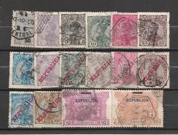 Portugal (incl. Gebiete) - Lot Fruehe Ausgaben (E763) - Collections
