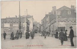 86 - POITIERS - PORTE DE LA TRANCHEE - Poitiers