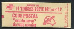 FRANCE - CARNET N° 1892 -C 2a - CONF. 4 -  * * - CD DU 7.  6/8/1977 - COMPLET FERMÉ & LUXE - Standaardgebruik