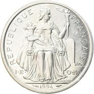 Monnaie, Nouvelle-Calédonie, Franc, 1994, Paris, SUP, Aluminium, KM:10 - New Caledonia