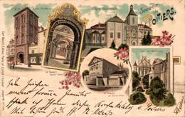 78835- Litho Gruß Aus Poitiers Um 1900 - Poitiers