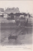 35. SAINT-MALO. Le Pont Roulant à Marée Basse. 170 - Saint Malo