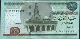 ♛ EGYPT - 5 Pounds 28.02.2013 {sign. Ramez} UNC P.63c - Egitto
