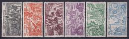 COTE Des SOMALIS - 1946 - TCHAD AU RHIN - YVERT N° 14/19 * MLH - COTE = 18 EURO - 1946 Tchad Au Rhin