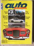 Revue Auto Passion N°15 Avril-mai 1988) Facel Vega - CG 1200 S - Cosworth V8 - Delage DM 1928 - Auto/Motorrad