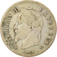 Monnaie, France, Napoleon III, Napoléon III, 20 Centimes, 1866, Bordeaux, TB+ - E. 20 Centesimi