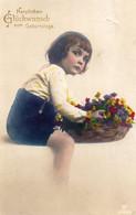 DC1891 - Schöne Motivkarte Kleines Mädchen Kind - Retratos