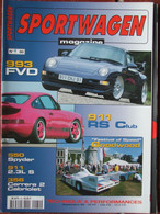 Revue Sportwagen Magazine N°60 (sept 1999) 993 FVD - Goodwood - 550 Spyder - 911 2.3l S - Auto/Motorrad