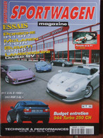 Revue Sportwagen Magazine N°55 (avril 1999) Porsche 911 GT1 - Bugatti EB110 - Entretien 944 Turbo - Auto/Motorrad