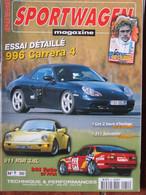 Revue Sportwagen Magazine N°51 (déc 1998) 996 Carrera 4 - 944 Turbo GT FFSA - 911 RSR - Auto/Motorrad