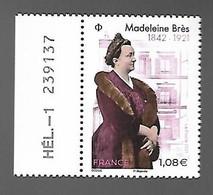 France 2021 - Madeleine Brès ** (la Première Femme Française Docteur En Médecine) - Ungebraucht