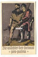 Die Wächter Der Heimat Pro Patria, Bundesfeier 1910 - Old Switzerland Federal Celebration Postcard - Other