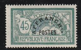 Fance Préoblitéré N° 44 Neuf Avec Charnière * Légère - 1893-1947