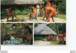 TAHITI-HIMA'A Préparation Du Four Tahitien - Tahiti