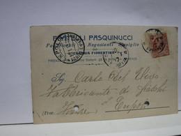CAPRAIA FIORENTINA    -- FIRENZE  ---   FRATELLI PASQUINUCCI  -- FABBRICANTI E NEGOZIANTI DI STOVIGLIE - Firenze (Florence)