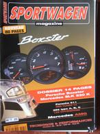 Revue Sportwagen Magazine N°25 (oct 1996) Boxster - Porsche 911 RSR Turbo 74 - Mercedes AMG - Auto/Motorrad