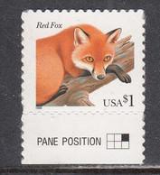 USA 1998 - Animal:Fox, MNH** - Unused Stamps