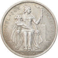 Monnaie, Nouvelle-Calédonie, 2 Francs, 1977, Paris, TB+, Aluminium, KM:14 - New Caledonia