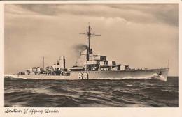 ORIGINAL WW2 KRIEGSMARINE POSTCARD - WOLFGANG ZENKER - Guerre 1939-45