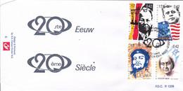 B01-289 2860 2861 2865 2866 FDC P1339 Sport Tour 20ème Siècle Kennedy Che Guevara Meir 04-12-1999 2220 Heist Op Den Berg - 1991-00