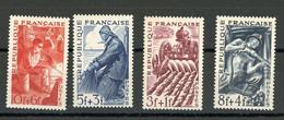 FRANCE - METIERS - N° Yvert 823/826 ** - Nuovi