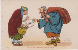 ILLUSTRATEUR - NERI -  HUMOUR - GRIVOISERIE - Le Plat A Couscous Et L'oeil De Jéhovah - Altre Illustrazioni