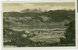 Unter-Aegeri Mit Glärnisch 1931; Panorama über Aegerisee - Gelaufen. (D. Häusler, Unter-Aegeri) - ZG Zug