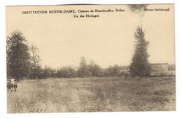 G156 - BOLBEC - Château De Roncherolles - Institution NOTRE DAME - Un Des Herbages - Bolbec