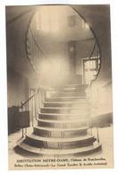 G158 - BOLBEC - Château De Roncherolles - Institution NOTRE DAME -  Le Grand Escalier - Bolbec