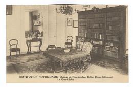 G160 - BOLBEC - Château De Roncherolles - Institution NOTRE DAME - Le Grand Salon - Bolbec