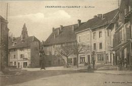 Carte Postale Ancienne De Champagne En Valromey,  Animée - Ohne Zuordnung