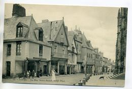 35 VITRE Livreur Tablier Blanc Rue Notre Dame 1910      /D01 -2017 - Vitre
