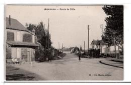 21-AUXONNE- ROUTE  DE  DOLE  N490 - Auxonne