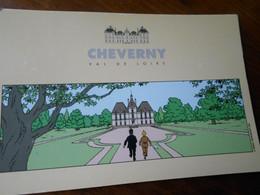 41  Cheverny Tintin Herge Neuve TBE - Cheverny