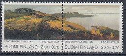 +Finland 1993. Paintings In Pair. Michel 1200-01. MNH(**) - Unclassified