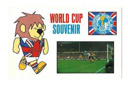 FOOTBALL COUPE DU MONDE ANGLETERRE 1966 - WORLD CUP SOUVENIR, COUPE JULES RIMET, PHASE DE JEU DE FOOTBALL, LION, A VOIR - 1966 – Engeland