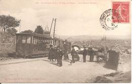 Le Chemin De Fer Du Puy-de-Dôme (63) Aux Quatre Routes En 1908 - Otros Municipios