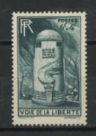 FRANCE -  VOIE DE LA LIBERTÉ - N° Yvert  788** - Nuovi
