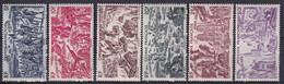 GUYANE - 1946 - TCHAD AU RHIN - YVERT N° 29/34 * MLH - COTE = 11.6 EURO - 1946 Tchad Au Rhin