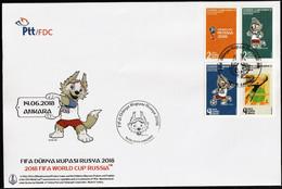 2018 Turkey FIFA World Cup In Russia FDC - 2018 – Rusland