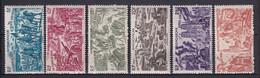 MADAGASCAR - 1946 - TCHAD AU RHIN - YVERT N° 66/71 * MLH - COTE = 12.35 EURO - 1946 Tchad Au Rhin