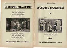 Le Decapite Recalcitrant BAGUETTE MAGIQUE HOKUS POKUS 12 DEC 1942.MAGIE - Non Classificati