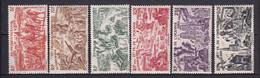 OCEANIE - 1946 - TCHAD AU RHIN - YVERT N° 20/25 * MLH - COTE = 16 EURO - 1946 Tchad Au Rhin