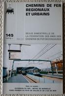 Chemin De Fer Régionaux Et Urbains N° 145  1/197 Metro De Marseille, Réseaux Touristiques Du Pays De Galles - Trains