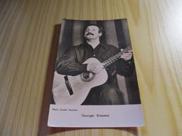 CPSM Georges Brassens. - Singers & Musicians
